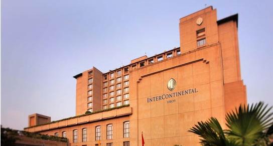 park royal intercontinental deluxe hotel in new delhi