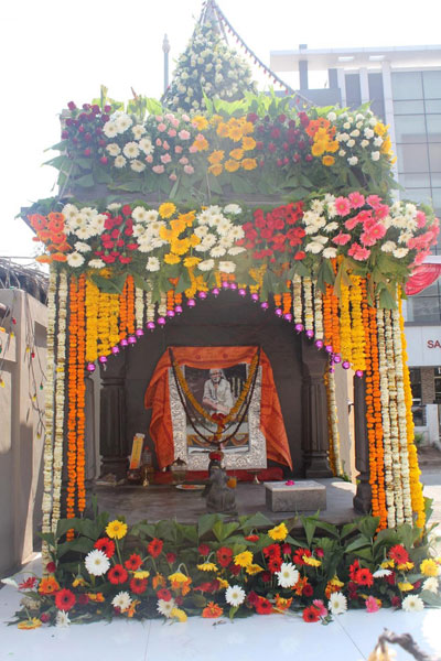 GURUSTHAN TEMPLE IN HOTEL PREMISE