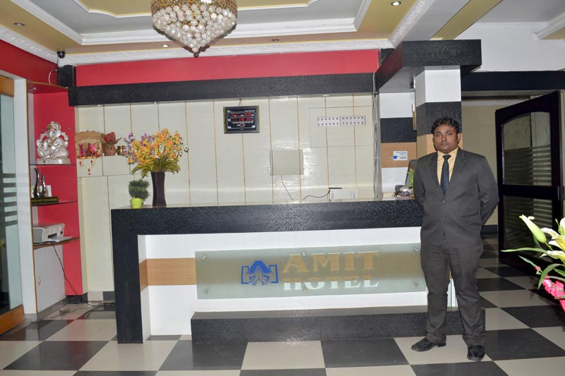 AMIT HOTEL RECEPTION