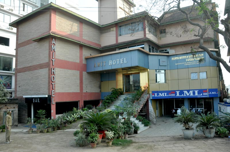 AMIT HOTEL FRONT LOOK