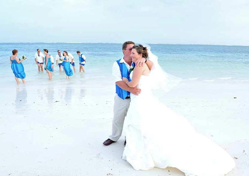 Beach Wedding at Flamboyant