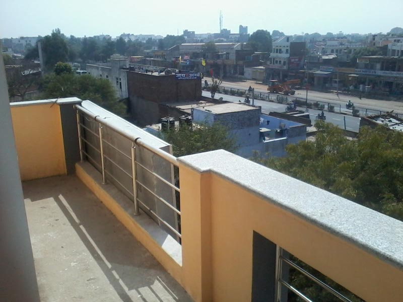 View from the balcony of Shree Ram Guest House