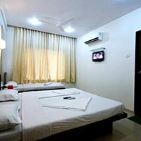 Triple sharing super deluxe room non AC