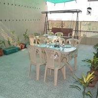 open tarace dinning area