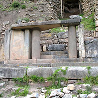 Main Porch of Stones of Chavin Ruins