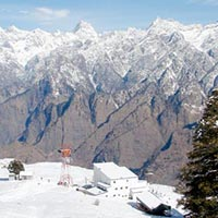Winter view of Auli