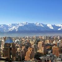Paragliding in Santiago De Chile