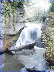 Aberdulais Falls in Wales
