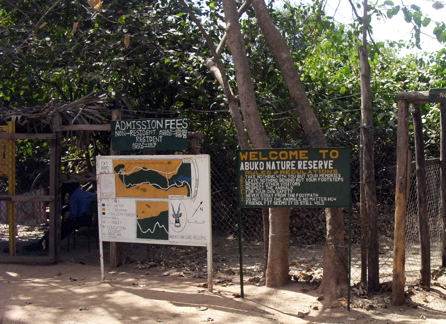 Abuko Nature Reserve in Abuko