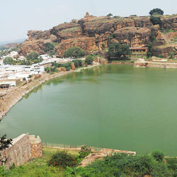 Agastya-Tirtha Lake in Badami