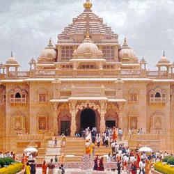 Akshardham in Gandhinagar