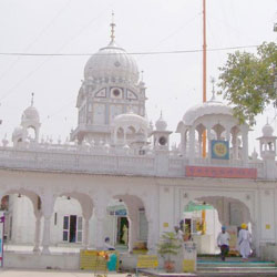 Amb Sahib Gurdwara in Chandigarh City