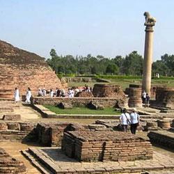 Ashoka Pillar, Sanchi in Sanchi