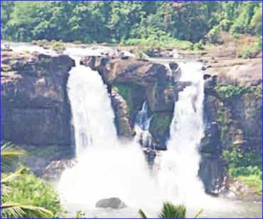 Athirapally and Vazhachal Waterfalls