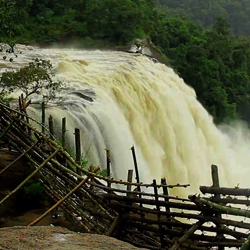 Athirapally and Vazhachal Waterfalls in Trichur