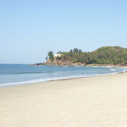 Baga Beach in Goa City