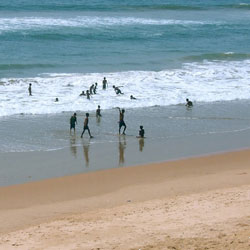 Balighai Beach in Konark