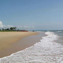 Benaulim Beach in Goa City