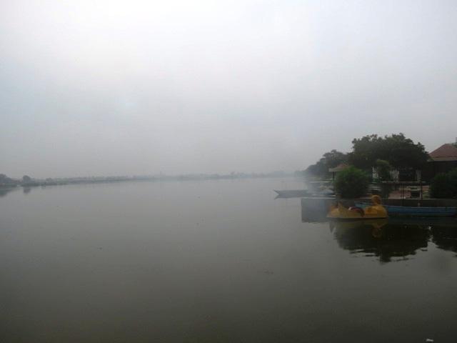 Bhalswa Lake in New Delhi