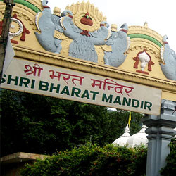 Bharatha Temple in Rishikesh