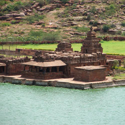 Bhoothanatha and Malegitti Temples in Badami