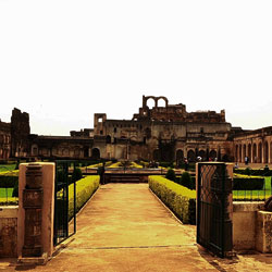 Bidar Fort in New Delhi