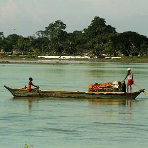 Boating in Assam