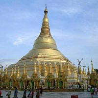 Botataung Pagoda in Yangon