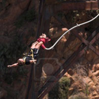 Bungee Jump At Gourits River Bridge in Garden Route