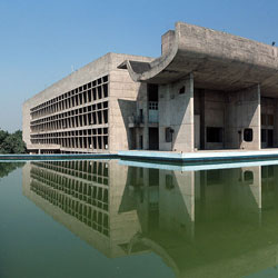 Capitol Complex in Chandigarh City