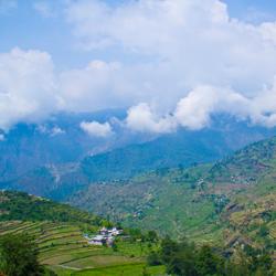 Chamoli Hills in Kumaon