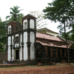 Chapel of St. Catherine in Goa City