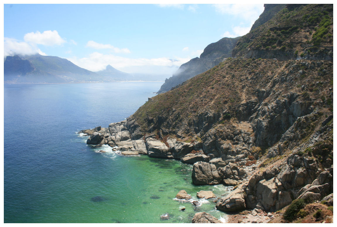 Chapman's Peak Drive in Cape Town