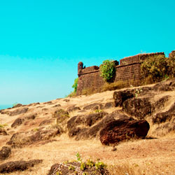 Chapora Fort in Goa City