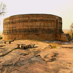 Chausath Yogini Temple in Khajuraho