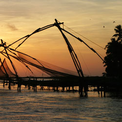 Chinese Fishing Nets in Ernakulam