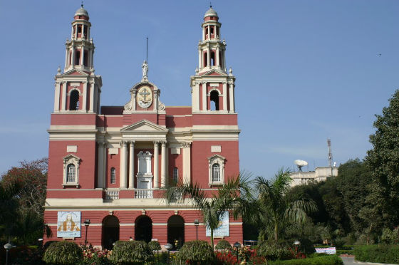 Church of the Sacred Heart in Delhi