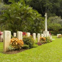 Commonwealth War Cemetery in Kandy