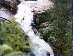Crinoline WaterFalls in Shillong