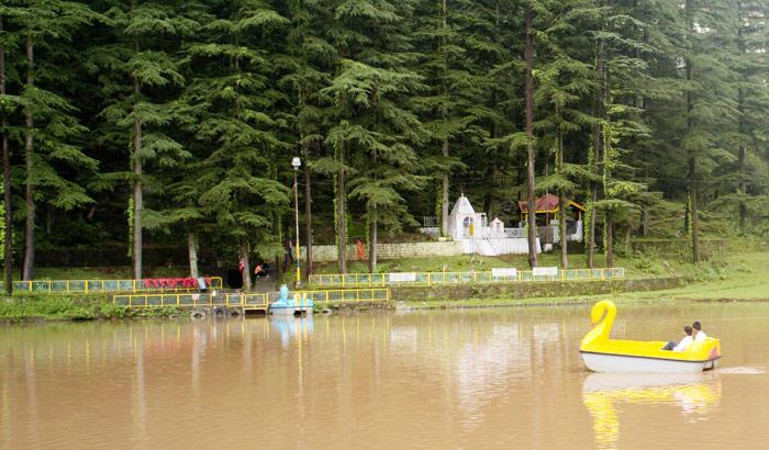 Dal Lake in Dharamshala