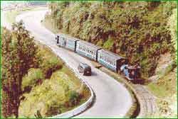 Darjeeling Railway in Darjeeling