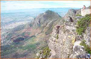 Devils Peak in Western Cape