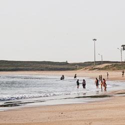 Diu Beach in Junagadh