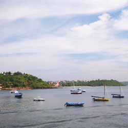 Dona Paula Beach in Goa City