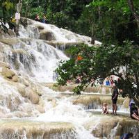 Dunn's River Falls (Ocho Rios, Jamaica) in Ocho Rios