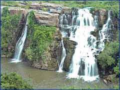 Ethipothala Waterfalls in Guntur