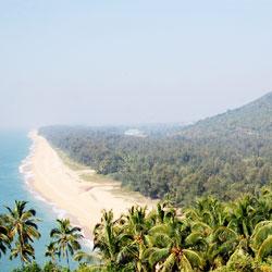 Ezhimala Beach in Kannur