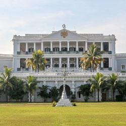 Falaknuma Palace in Hyderabad