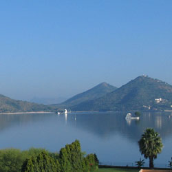 Fateh Sagar Lake in