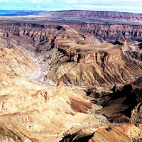 Fish River Canyon in Southern Namibia